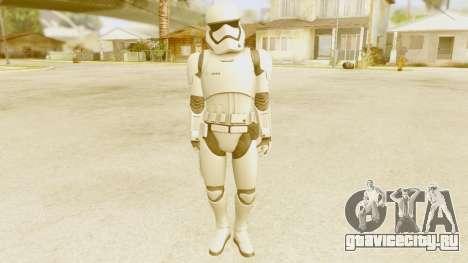 Star Wars Ep 7 First Order Trooper для GTA San Andreas второй скриншот