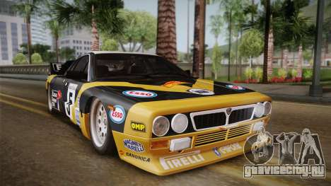 Lancia Rally 037 Stradale (SE037) 1982 IVF PJ2 для GTA San Andreas вид сзади слева