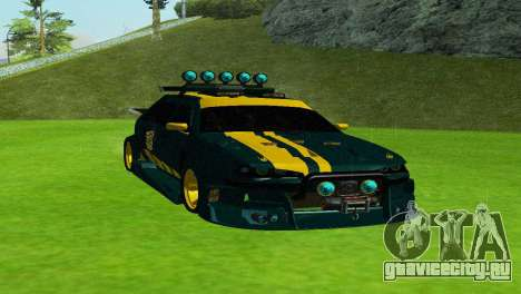 VAZ 2114 DTM TURBO SPORTS 2 для GTA San Andreas