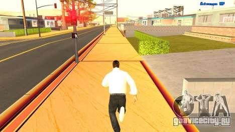 Бесконечный бег для GTA San Andreas второй скриншот