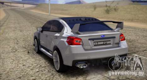 Subaru WRX STI LP400 2016 для GTA San Andreas вид сзади слева