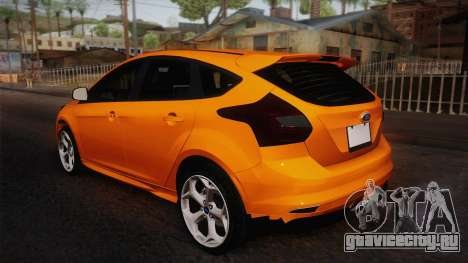 Ford Focus 2012 для GTA San Andreas вид слева