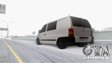 Mercedes-Benz Vito для GTA San Andreas вид сверху