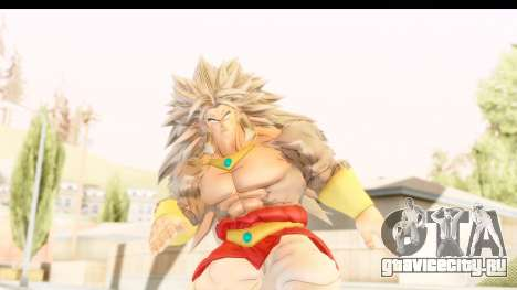 Dragon Ball Xenoverse Broly SSJ5 для GTA San Andreas
