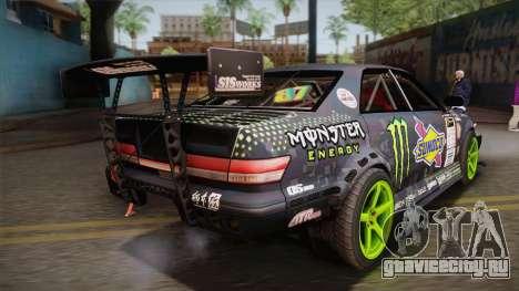 D1GP Toyota Mark II Sunoco Monster для GTA San Andreas вид слева