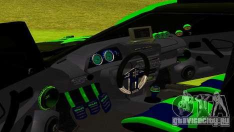 ВАЗ 2114 DTM TURBO SPORTS для GTA San Andreas вид изнутри