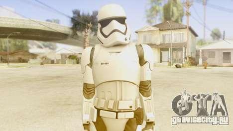 Star Wars Ep 7 First Order Trooper для GTA San Andreas