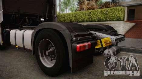 Mercedes-Benz Actros Mp4 4x2 v2.0 Steamspace v2 для GTA San Andreas вид справа
