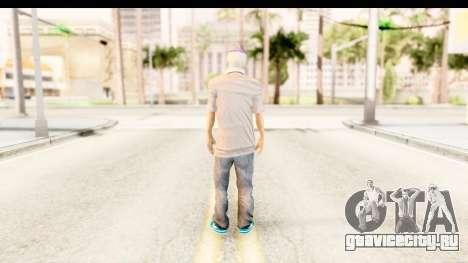 Toni Raut Purple Hair для GTA San Andreas третий скриншот