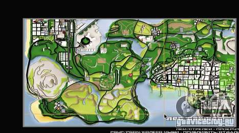 Remaster Map Full Version для GTA San Andreas третий скриншот