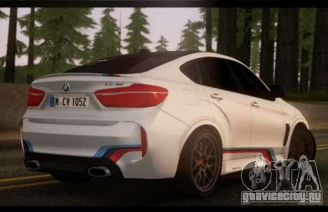 BMW X6M PML ED для GTA San Andreas вид слева