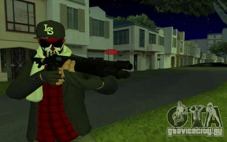 GTA Online Skin для GTA San Andreas второй скриншот