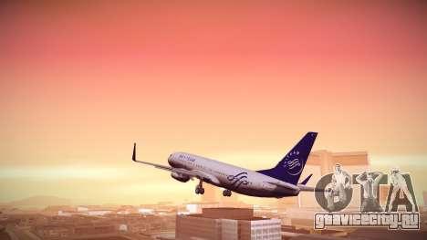 Boeing 737-800 Korean Air Skyteam для GTA San Andreas вид слева