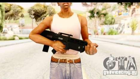 GTA 5 Vom Feuer Advanced Rifle для GTA San Andreas третий скриншот