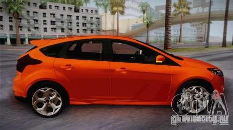 Ford Focus 2012 для GTA San Andreas вид сзади слева