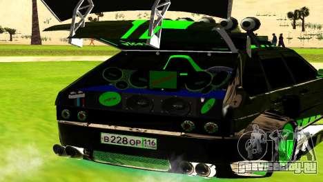ВАЗ 2114 DTM TURBO SPORTS для GTA San Andreas вид справа