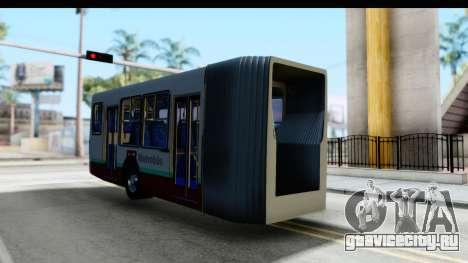 Metrobus de la Ciudad de Mexico Trailer для GTA San Andreas вид справа