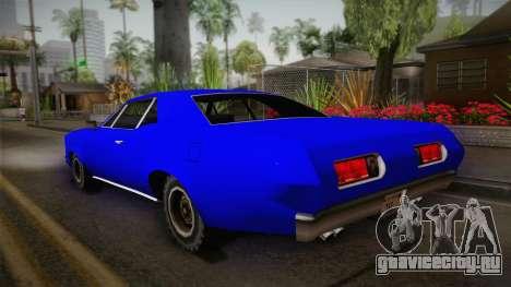 Bestia 1971 from Midnight Club 2 для GTA San Andreas вид слева