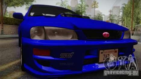 Subaru Impreza WRX STI GC8 1999 v1.0 для GTA San Andreas вид справа