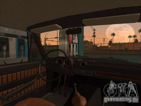 ВАЗ 2103 Ресто для GTA San Andreas вид сзади слева