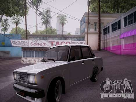 VAZ 2107 Tipo-stance для GTA San Andreas