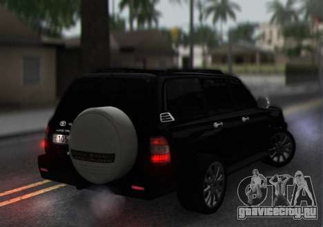 Toyota Land Cruiser 105 для GTA San Andreas вид справа