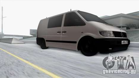 Mercedes-Benz Vito для GTA San Andreas вид сбоку