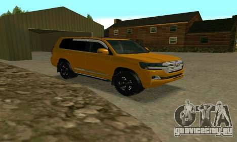 Toyota Land Cruiser 200 2016 для GTA San Andreas