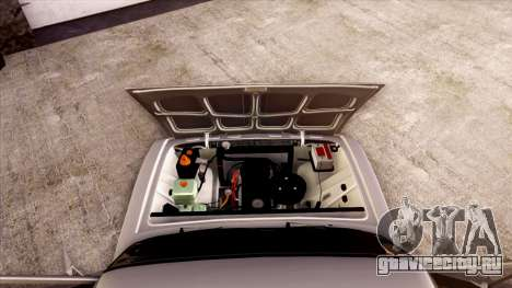 ВАЗ 2103 для GTA San Andreas вид снизу