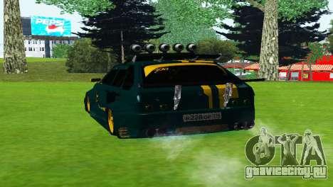 VAZ 2114 DTM TURBO SPORTS 2 для GTA San Andreas вид сзади слева
