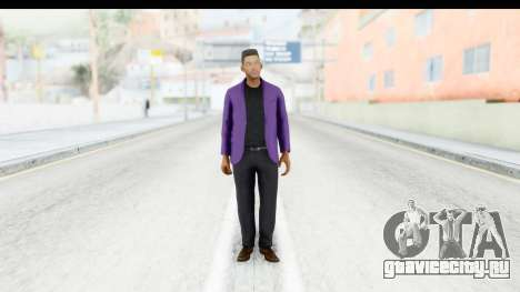 Will Smith Fresh Prince of Bel Air v2 для GTA San Andreas второй скриншот