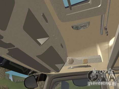 Mercedes-Benz Actros Mp4 4x2 v2.0 Gigaspace для GTA San Andreas вид снизу