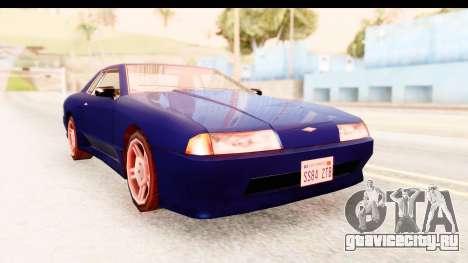 20egt Elegy для GTA San Andreas вид сзади слева