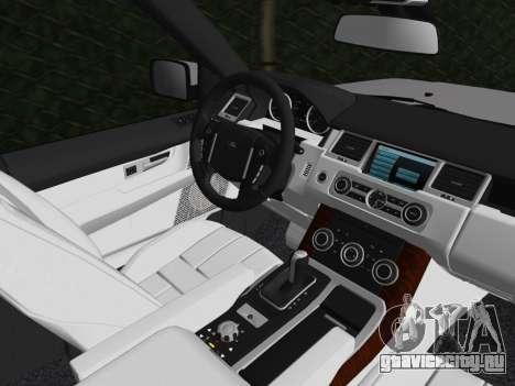 Range Rover Sport HSE (Rims 1) v2.0 для GTA Vice City вид сбоку
