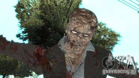 Zombie from Black Ops 3 для GTA San Andreas четвёртый скриншот