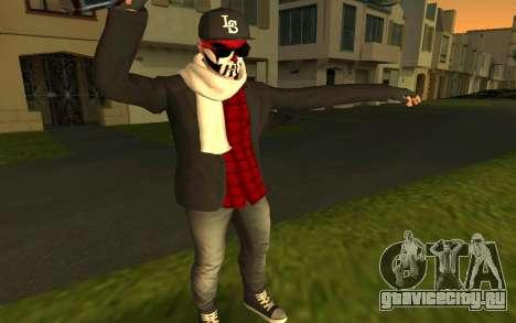 GTA Online Skin для GTA San Andreas третий скриншот