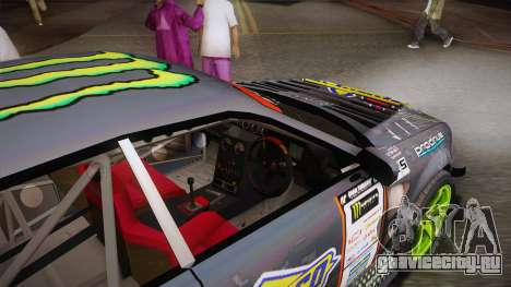 D1GP Toyota Mark II Sunoco Monster для GTA San Andreas вид изнутри