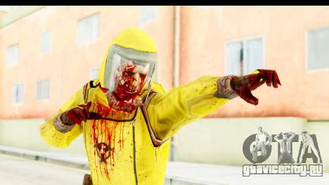Zombie Radioactivo для GTA San Andreas