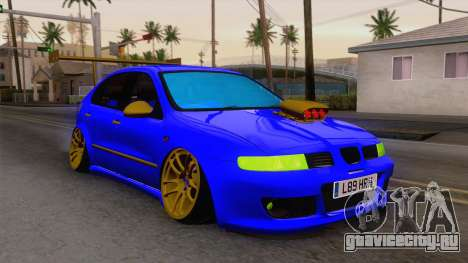Seat Leon Haur Edition для GTA San Andreas