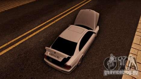 BMW M5 E39 для GTA San Andreas вид сзади