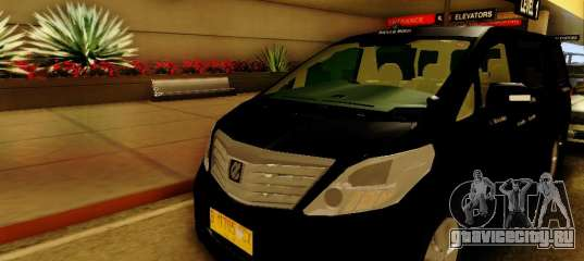toyota alphard taxi silver bird gta san andreas. Black Bedroom Furniture Sets. Home Design Ideas