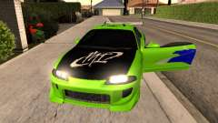 Mitsubishi Eclipse The Fast and the Furious для GTA San Andreas