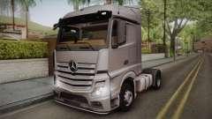 Mercedes-Benz Actros Mp4 4x2 v2.0 Steamspace v2 для GTA San Andreas