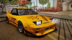 Nissan 180SX Rocket Bunny для GTA San Andreas