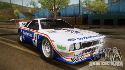 Lancia Rally 037 Stradale (SE037) 1982 HQLM PJ2 для GTA San Andreas