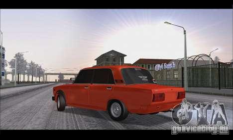 ВАЗ 2105 Пятачок v3 для GTA San Andreas вид слева