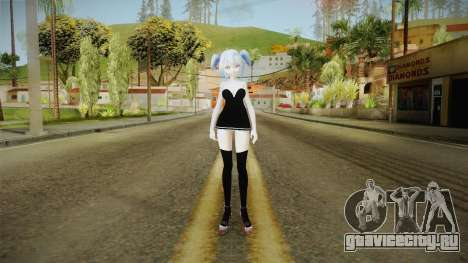 Short Dress Miku для GTA San Andreas