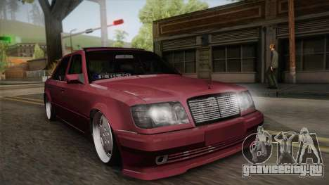 Mercedes-Benz E500 German Style для GTA San Andreas
