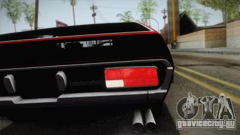 Lamborghini Espada S3 39 1972 для GTA San Andreas вид сзади
