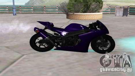 Aprilia RSV4 SPORTS для GTA San Andreas